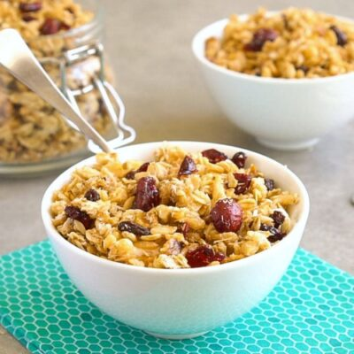 This easy granola recipe is the best healthy breakfast!