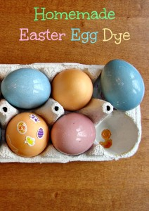 Learn how to make DIY Easter egg dye with this easy tutorial! You can dye Easter eggs without food coloring using vegetable scraps, spices, and vinegar.