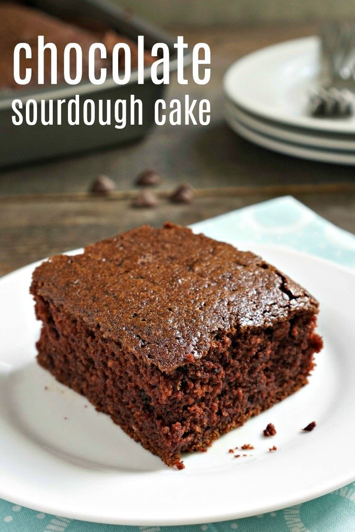This chocolate sourdough cake is such a delicious way to use up extra sourdough starter. Nobody will be able to tell just how healthy it really is!
