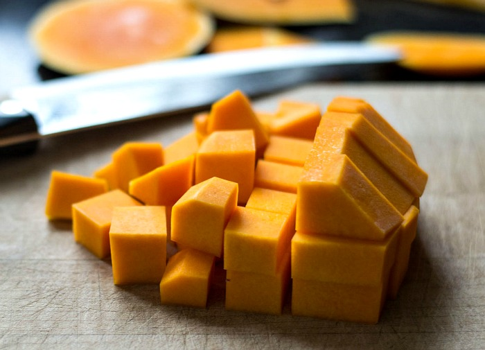 Butternut squash is the star in this fall harvest stew.