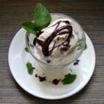 This vegan mint chocolate chip ice cream recipe is so delicious! Make this healthy dessert recipe to satisfy your chocolate cravings.