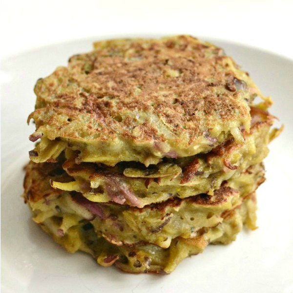 Root Vegetable Potato Pancakes - Real Food Real Deals