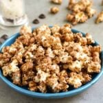 healthy chocolate popcorn recipe