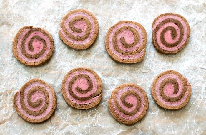 Chocolate raspberry pinwheel cookies are such a delicious recipe for Valentine's Day or any special occasion!