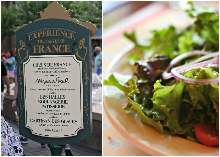 Epcot is a great place for eating healthy at Disney World.
