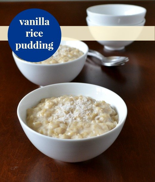 This vanilla brown rice pudding recipe is such a delicious, healthy snack.