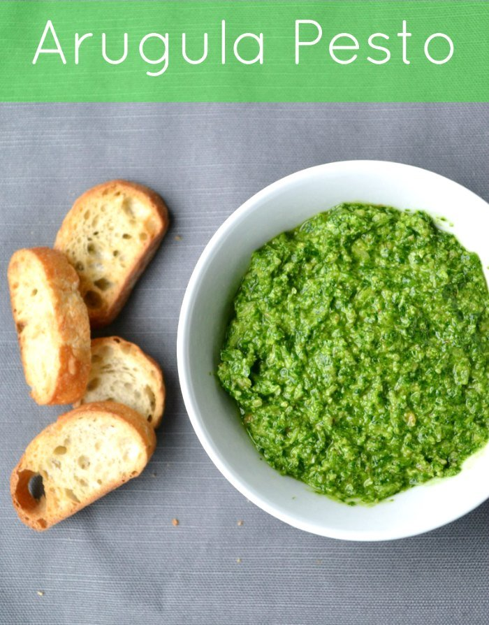 Try this delicious arugula pesto recipe for a unique way to enjoy these healthy greens.