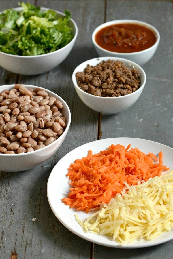 Taco Night is one of our favorite dinners, and it can be prepared ahead of time for a healthy, delicious meal. Try these taco night ideas with your family.