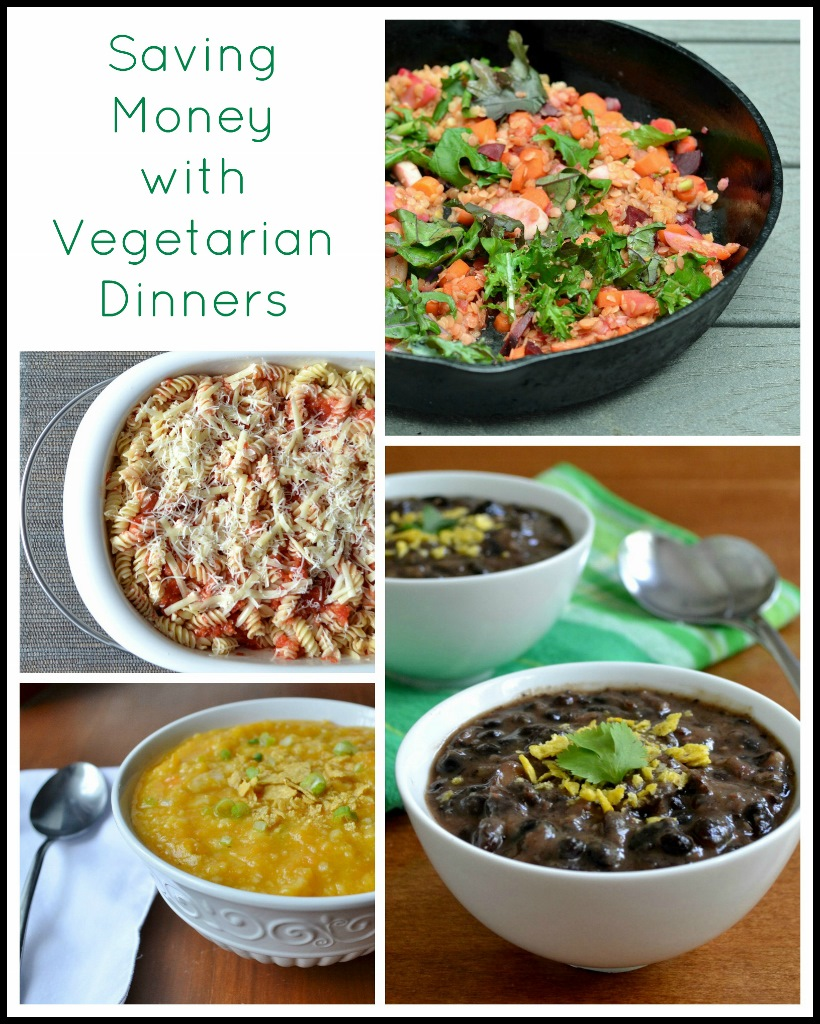 Eating more vegetarian dinners is a great way to save money at the grocery store. These healthy, frugal meals are a great addition to your meal plan.