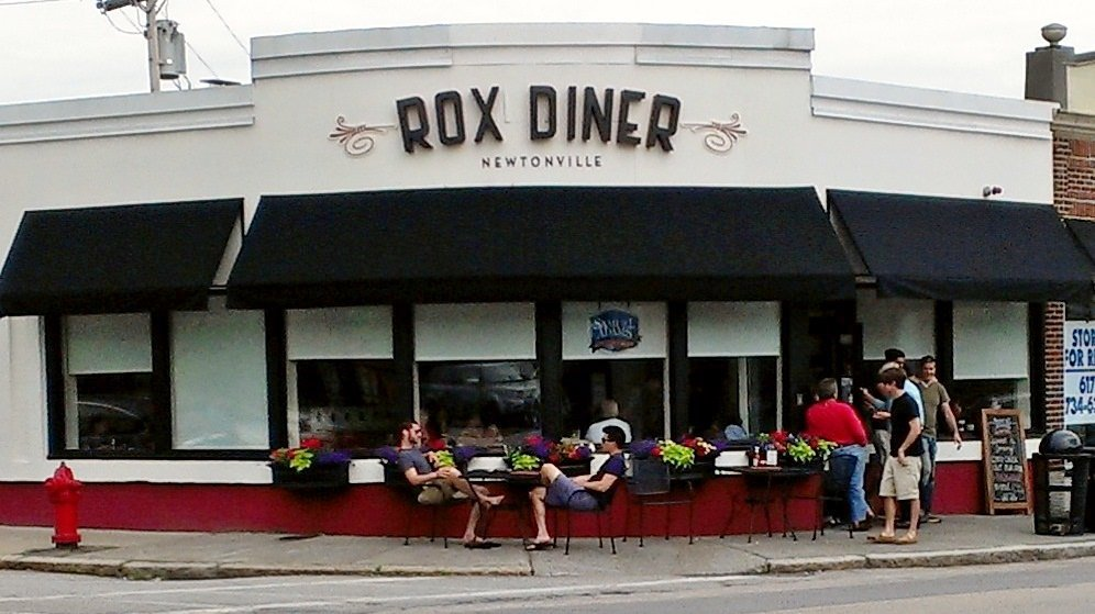 Rox Diner is a great spot for healthy breakfast in Newton.