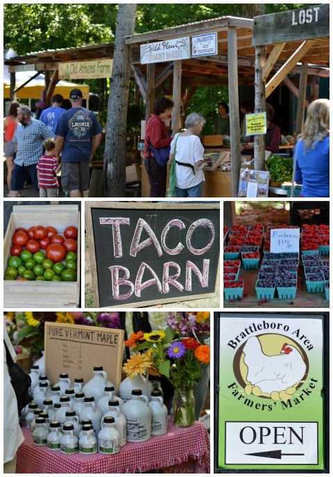 Farmers' Market Collage