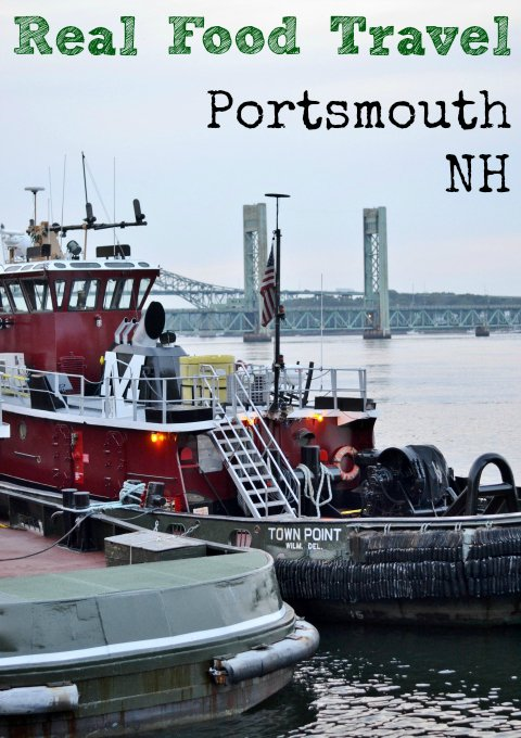 Real Food Travel Portsmouth NH: These are some of the best places to eat real food in Portsmouth! This is a great place to travel for a family vacation and get lots of locally-sourced food.