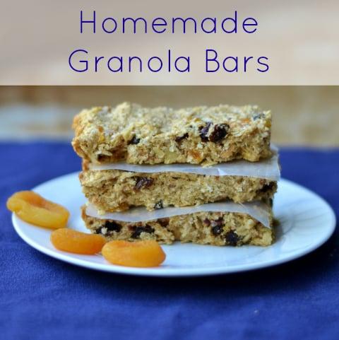Homemade Granola Bars - Real Food Real Deals