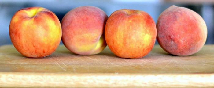 Fresh peaches are a delicious summer treat, especially in this easy peach salsa recipe!