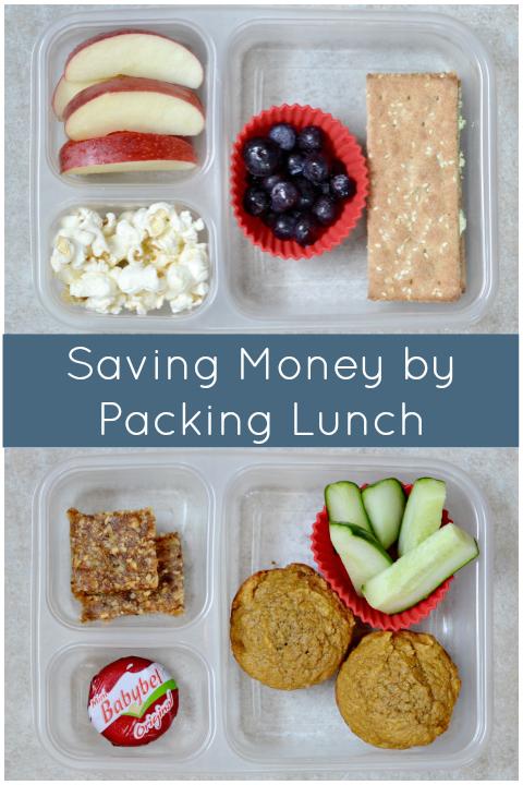 Saving Money Packing Lunch