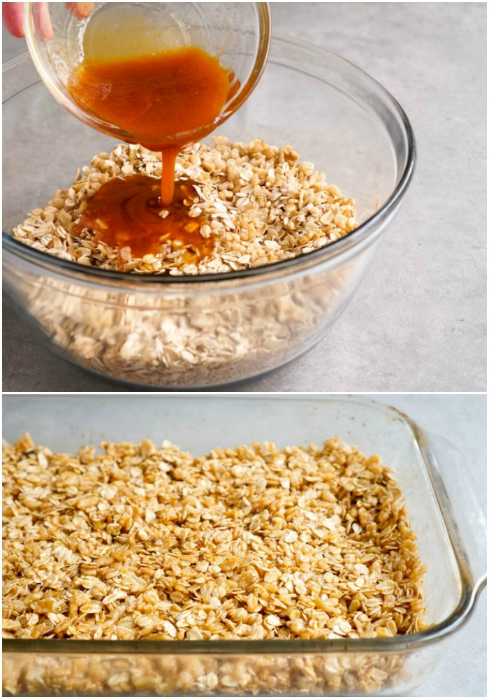 This pumpkin granola takes just a few minutes to prepare, and it's so delicious!