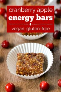 Cranberry apple energy bars are a healthy, high-protein snack that highlights the delicious flavors of fall. Everyone loves these delicious, fruity bars!