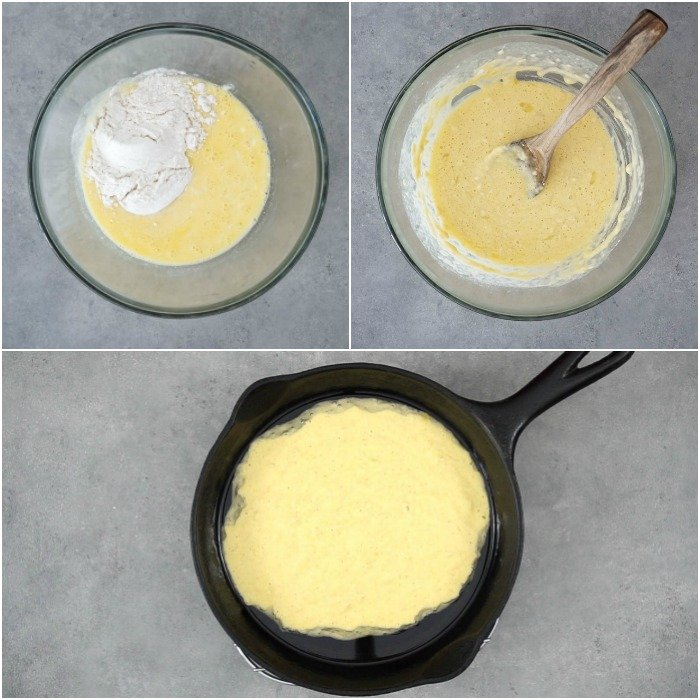 With just 5 ingredients, this Dutch baby couldn't be easier to make!