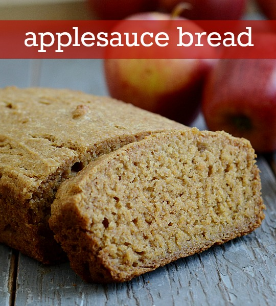 Applesauce Bread Recipe from Real Food Real Deals