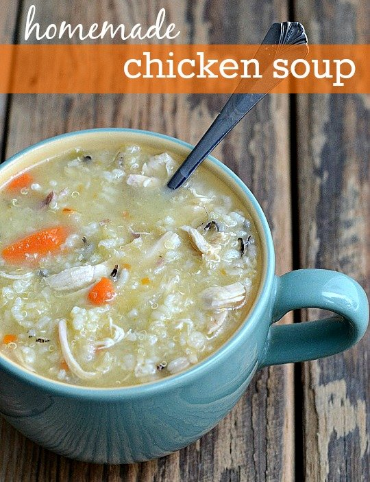 Chicken Soup Recipe From Real Food Real Deals