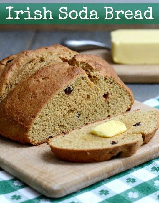 Irish Soda Bread Recipe - Real Food Real Deals