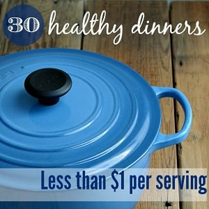 Frugal healthy dinner recipes