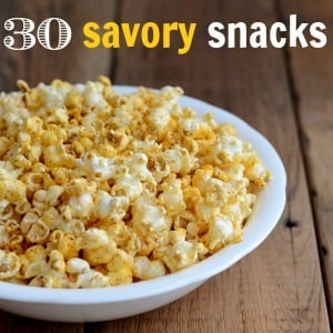 Savory snack recipes without added sugar real food real deals forumfinder Choice Image