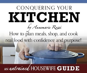 conquering your kitchen