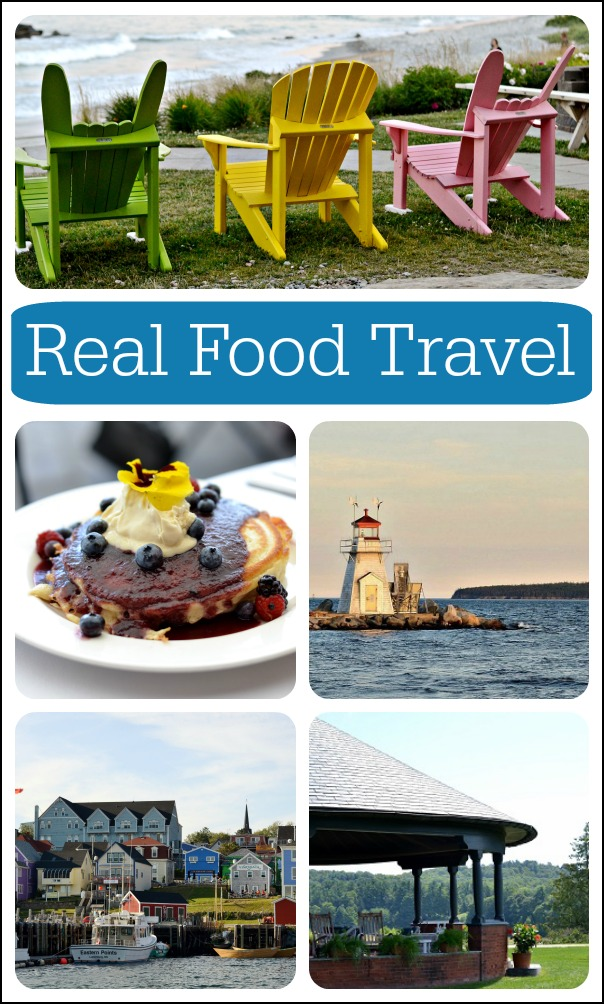 There are so many great real food travel destinations! My family has gone on vacation to many places throughout the U.S. and Canada where farm-to-table food is everywhere. You just need to know where to look.