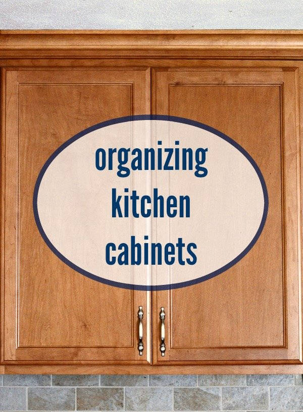 Organizing Kitchen Cabinets From Real Food Real Deals