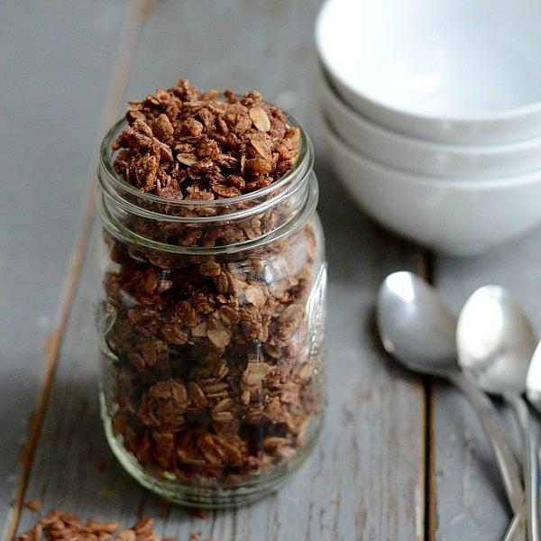 chocolate granola recipe 600