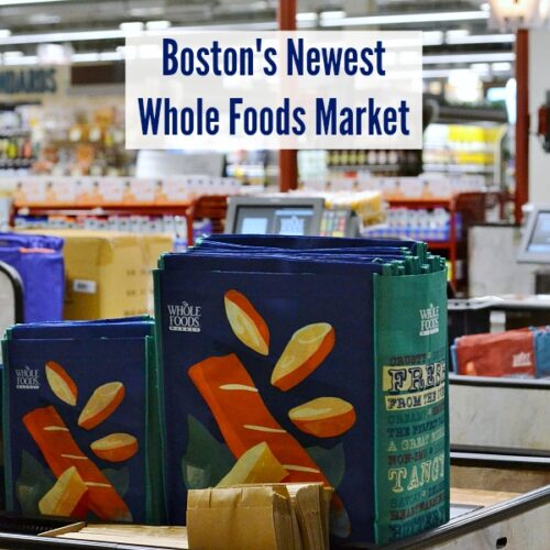 The newest Whole Food Market has just opened in Boston's South End. This is a great place to shop for healthy groceries, and you can even get a spa treatment while you're at it!