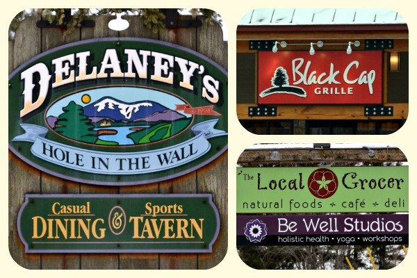 Real food restaurants in North Conway, NH. Great places to visit for healthy travel food!