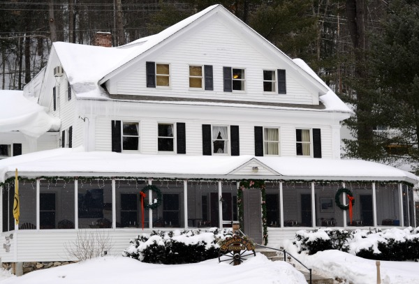 Traditions Restaurant at Purity Spring Resort in Mount Washington Valley, NH. Great New England comfort food!