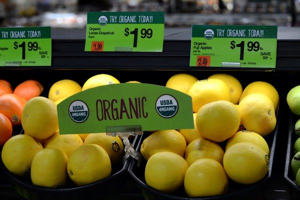 Star Market organic produce