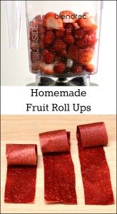 Homemade fruit roll ups are so easy to make! This simple snack recipe takes minutes to prepare in a Blendtec.