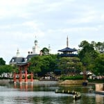 Epcot's World Showcase is my favorite part of Disney World. The atmosphere is beyond compare!