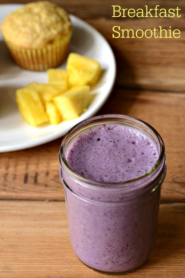 Celebrate the everyday by adding Dole pineapple juice to your breakfast smoothie. This is such a delicious recipe!