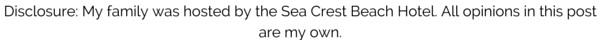 Sea Crest Beach Hotel Disclosure