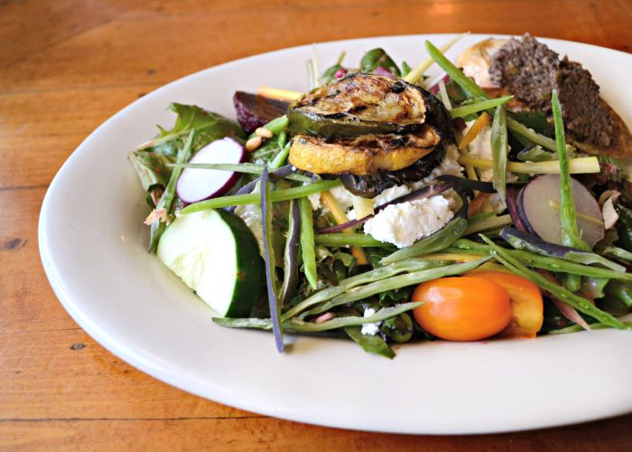 The Hearth and Candle Restaurant is a great place for locavore food at Smugglers' Notch Resort in Vermont.