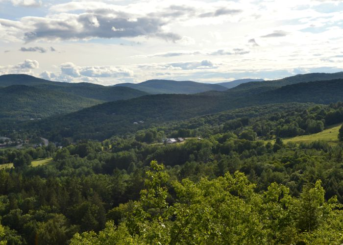 Mount Tom is Woodstock, VT is a great place for an easy family hike. The view from the top is fantastic!