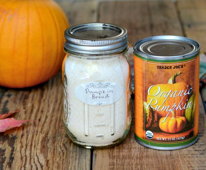 Pumpkin Bread Mix Hostess Gift Recipe