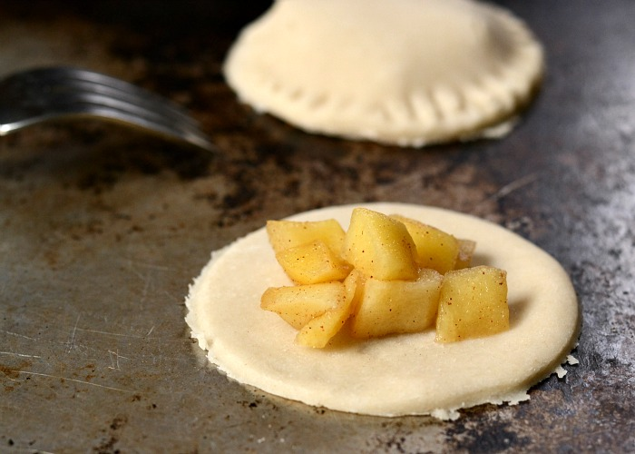 Apple hand pies are so delicious! We love this dessert during the fall.