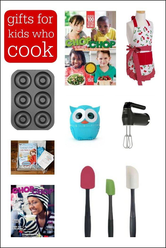 This gift guide for kids who love to cook will help inspire your budding chef. Teaching kids to cook is an essential part of parenting, and these gifts make it extra fun!