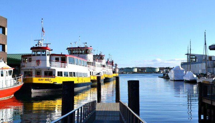 The Portland, Maine waterfont is such a peaceful spot to visit.