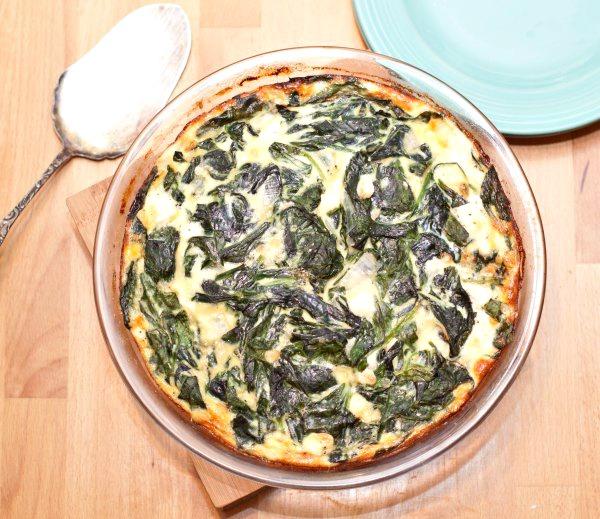 healthy-meals-crustless-spinach-feta-quiche