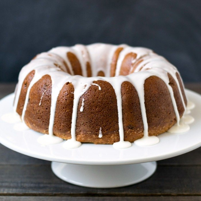 This pineapple raisin bundt cake is such a festive dessert recipe! It's a light dessert worthy of a special occasion, but it's easy enough to make any day of the week.