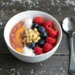 Easy, healthy smoothie bowl recipe