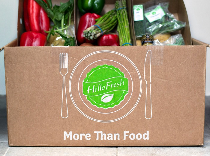 Hello Fresh - a box full of healthy dinner ingredients!