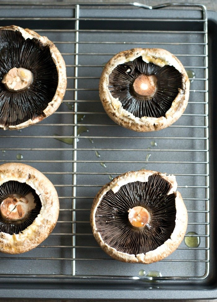 This is such a great tip for keeping portobello mushrooms from getting soggy in the oven!
